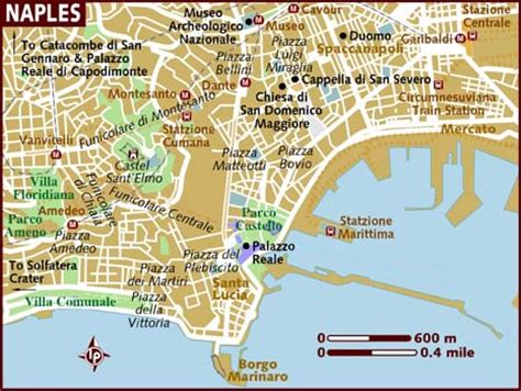 naples italy map map of naples