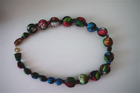 category beautiful silk bead necklace diy