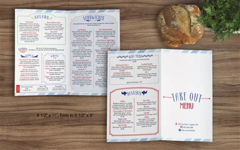 sandwich shop menu template 27 indesign menu templates free premium templates