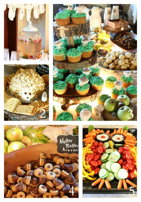 Woodland Themed Baby Shower Food by Woodland Themed Baby Shower Fox Baby Shower Comments