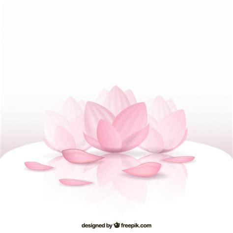 testo lotus flower 美しい蓮の花 ベクター画像 無料ダウンロード