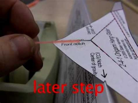 How To Make A Paper Hang Glider - out of date part 3 surf an origami hang glider on a wave
