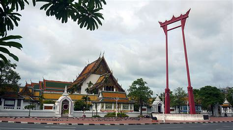 swing thailand giant swing bangkok thailand map facts location