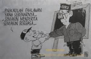 karikatur hari guru produktivitas purwoudiutomo com