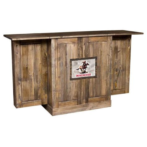 Bar Portable Rustic Looking Portable Bar Could Just Cover The