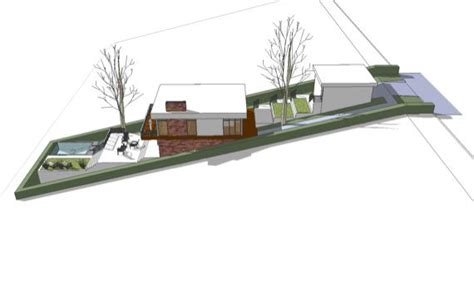 Steep Site House Plans April 2011 Eye On Design By Dan Gregory