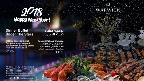 warwick new year gala guide where to spend the new year 2018 in qatar
