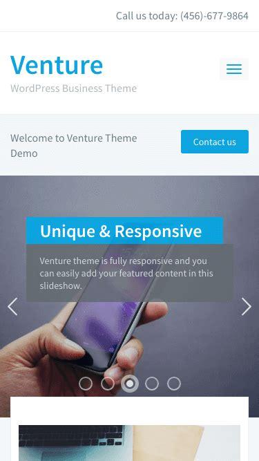 Wpzoom Venture V2 0 4 venture 2 0 best business theme wpzoom
