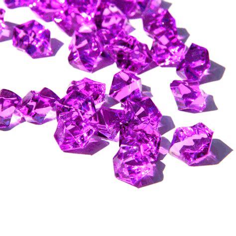 purple vase gems purple wedding supplies purple vase