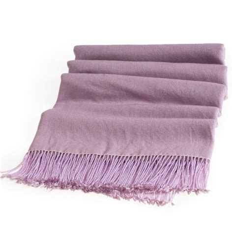 buy pashmina stole with beaded tassels 70x200cm wood