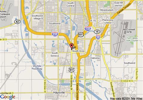 Comfort Inn Wichita Map Of Value Place Wichita South Wichita