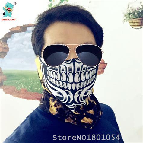 Masker Motor Sport Half kopen wholesale skelet gezichtsmasker uit china skelet gezichtsmasker groothandel
