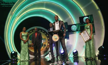 yaya toure wins african player of the year award for the