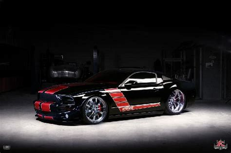 sick mustang in the auction 2007 shelby mustang custom