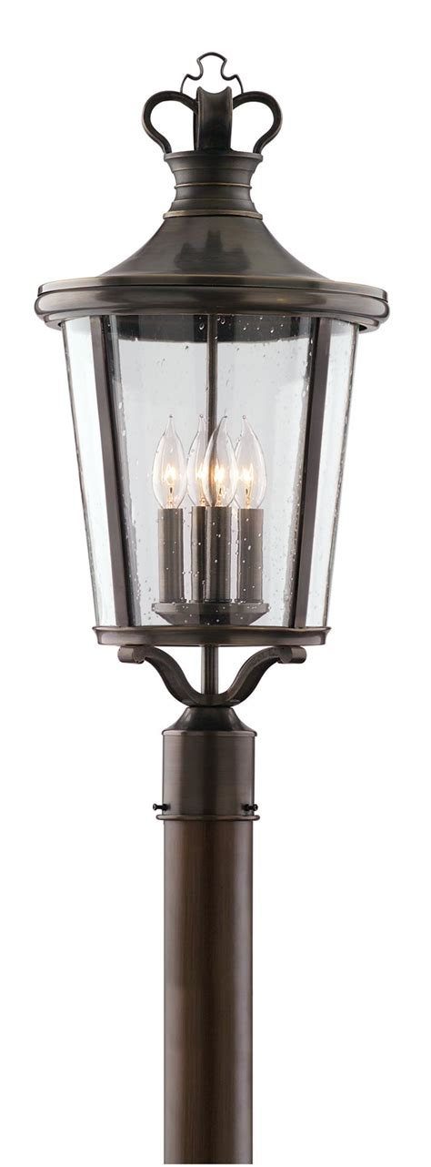 Williamsburg Light Fixtures Williamsburg P1385eb Britannia Traditional Outdoor Post Lantern Tl P 1385 Eb