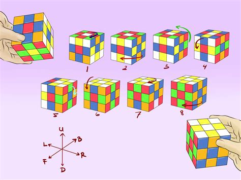 flower pattern on rubik s cube 8 ways to make awesome rubik s cube patterns wikihow