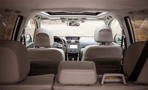 subaru forester touring interior car and driver