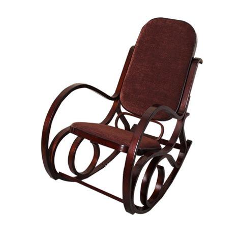 chaises 224 bascule chaise 224 bascule en bois et en tissu