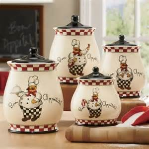 bon appetit chef canister set kitchen accents pinterest