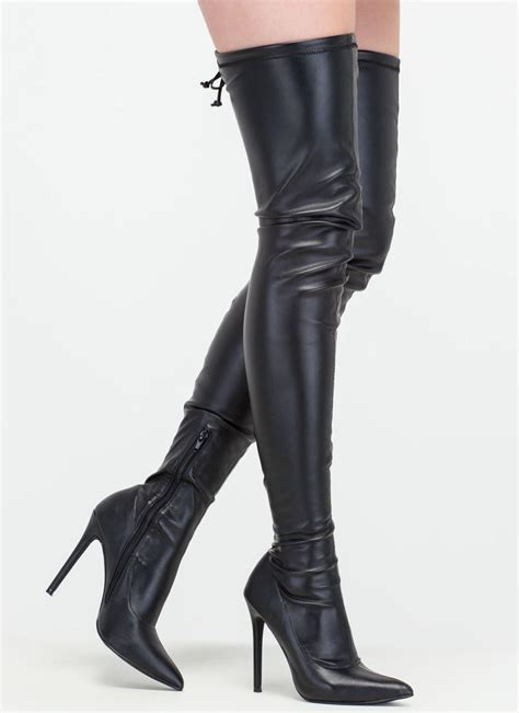 thigh high boots look trendy with thigh high boots acetshirt