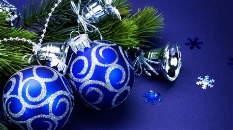 blue christmas decoration mystery wallpaper