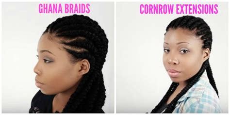 whats the diff btw box braids and regukar braids all about ghana braids see this 4 minute tutorial