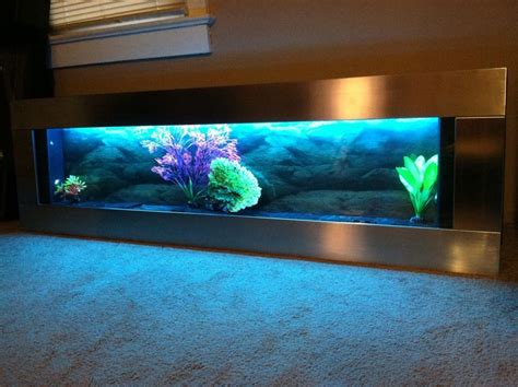 60quot wall mounted aquarium
