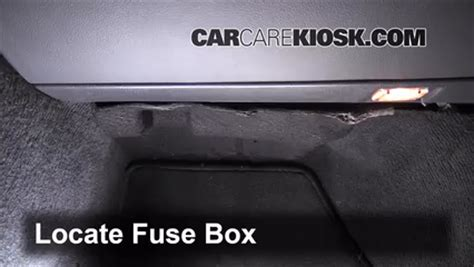 interior fuse box location   volvo   volvo     cyl