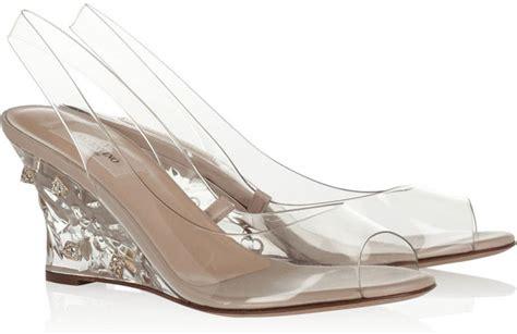 Embelished Bow Dress Minimal embellished pvc slingbacks 8 new see through shoes hit or