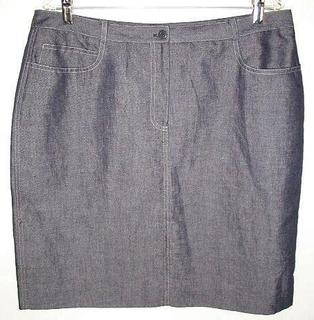 jones new york 84 denim skirt size 16 new