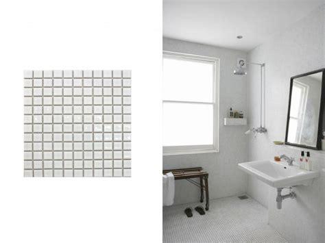 west end cottage bathroom tiles penny round tile bathroom photos