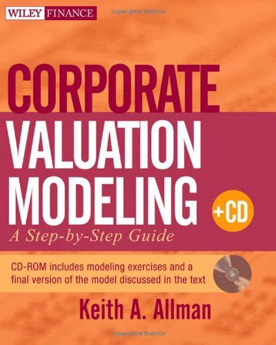 corporate valuation modeling a step by step guide avaxhome