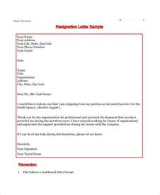 Resignation Letter by Resignation Letter Templates 7 Free Sle Exle Format Downlod Free Premium Templates