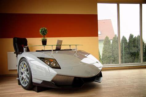 Lamborghini Office For The Who Has Everything A Lamborghini Desk