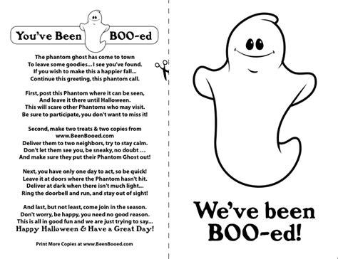 printable you ve been booed sign gt happy halloween mini homemaker