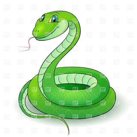 clip snake green snake vector image 6644 rfclipart