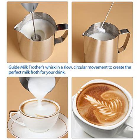 how to design milk froth simpletaste electric foam milk frother handheld battery