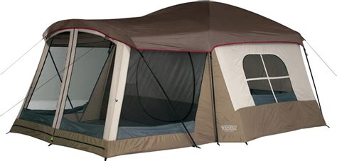 cabin tent with screen room cing station wenzel klondike family cabin tent with screen room