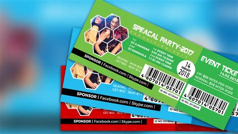 design event tickets photoshop how to create an event ticket adobe photoshop cc