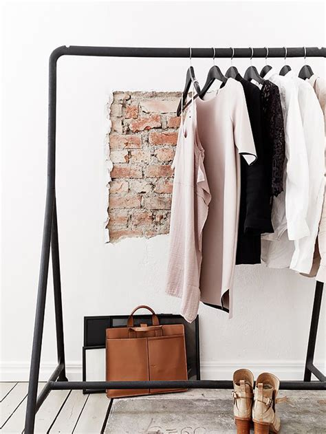 Wardrobe Clothes Rack by Stylish Clothing Rack Not Your Standard