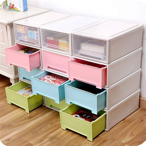 storage boxes for wardrobes new arrival sundries storage box single layer plastic