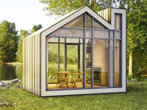 Small Home Building Workshop Meet Bunkie A Tiny New Prefab House From 608 Design And