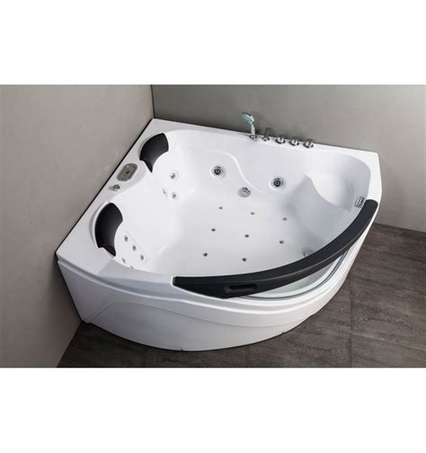 jetted corner bathtub merosa whirlpool corner tub designer bathroom designer tub