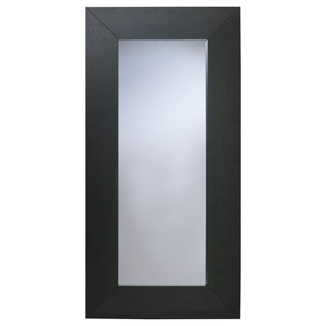 mirror s mongstad mirror black brown 94x190 cm ikea