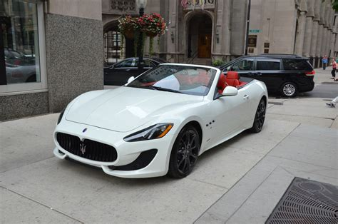 convertible maserati for sale 2014 maserati granturismo convertible sport stock m146 s