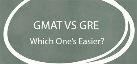 Mba That Doesn T Require Gre by Gmat Vs Gre Which One S Easier Jamboree India