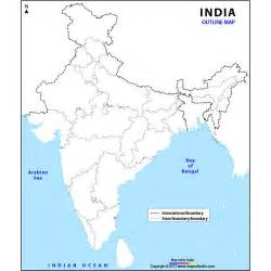 India Map Outline by India Map Outline Big Pictures To Pin On Pinterest Pinsdaddy