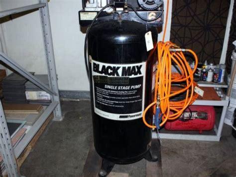 coleman black max 60 gallon air compressor
