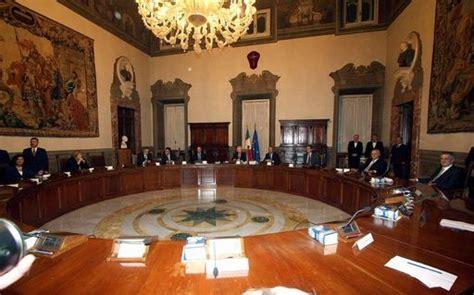 consiglio dei ministri di ieri alle 16 00 seduta consiglio dei ministri