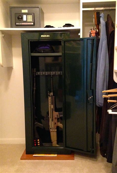 Turn A Closet Into A Safe Room by Self Defense Tip Make Sure The Right Gun Safe Is In The